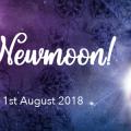 獅子座の日食新月